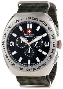 Swiss Military Herren-Armbanduhr XL Commando Analog Textil 06-4C2-04-007T6