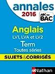 Annales ABC du BAC 2016 Anglais Term...