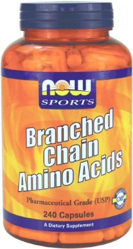 NOW Foods Branch Chain Amino Acids, 240 Capsules