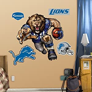 NFL Detroit Lions Lawless Lion Wall Graphics by Fathead