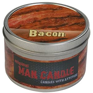 Bacon Candle - Manly Scented Candles