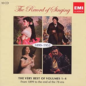The Record of Singing, 1899-1952: The Very Best of Vols. 1-4