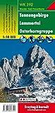 Freytag Berndt Wanderkarten, WK 392,Tennengebirge - Lammertal - Osterhorngruppe - Maßstab 1:50.000