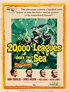 20000 leagues Under The Sea Movie Poster #02 61cm x 91cm 24inx36in