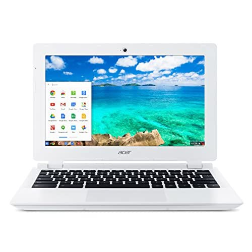 Acer Aspire CB3-111 11.6-inch Chromebook (White) - (Intel Celeron N2830 2.16GHz, 2GB RAM, 16GB eMMC, Integrated...