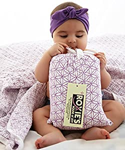 Roxie's Baby Everything Blanket for Receiving, Stroller, Crib to Toddler, Purple