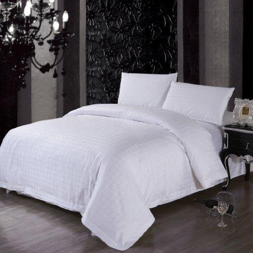 Daloyi Hotel Prime: Duvet Cover For Queen - Kona Squares - Jf20012