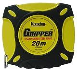 コメロン 鋼製巻尺 グリッパー テープ幅10mm 20M KMC-900R