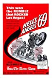 HELL'S ANGELS MOVIE POSTER LAS VEGAS sonny BARGER terry THE TRAMP 24x36
