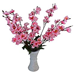 Thefancymart Artificial Blossom Flowers With Designer Pot Style Code - FP-155