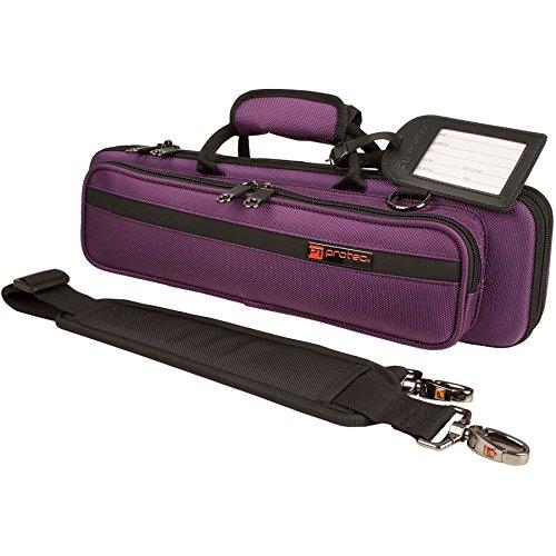 Protec pb308pr slimline tui pour fl te violet caisses for Housse flute traversiere