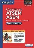 Concours ATSEM et ASEM - Tout-en-un - Catégorie C - Concours 2016-2017...