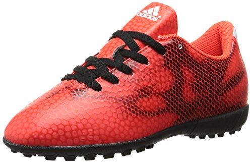 adidas Performance F5 TF J Soccer Shoe , Solar Red/White/Cor