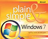 img - for Windows  7 Plain & Simple book / textbook / text book