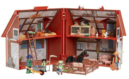 Playmobil Take Along Christmas House Playmobil my Take-along Farm