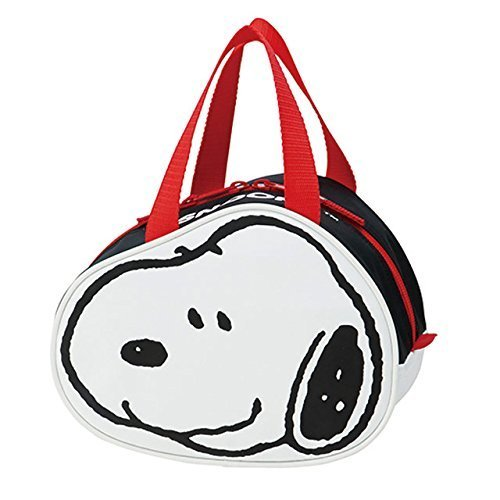 Skater Peanuts Snoopy Face Thermal Insulated Lunch Bag