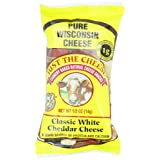 Just the Cheese Mini Round Snacks, Classic White Cheddar, 0.5-Ounce Bags (Pack of 16) ~ Just The Cheese