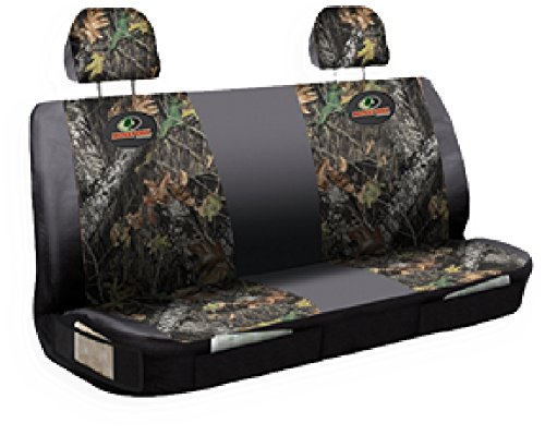 Mossy Oak Seat Covers >> Mossy Oak Bench Seat Cover With 2 Headrest Covers Import