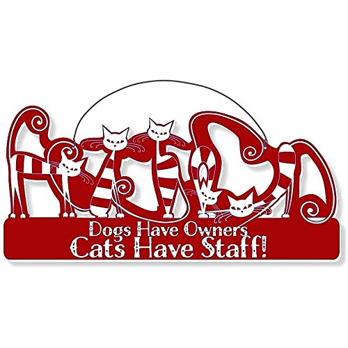 Cool Cats Cat-Gang Shaped Laser-Etched 3-In-1 Plaques Ver2 Have Staff Red front-543276