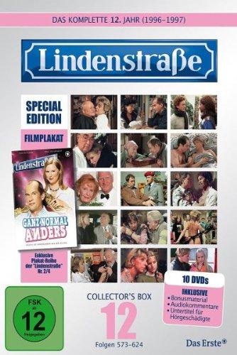 Die Lindenstraße - Das zwölfte Jahr (Folgen 573-624) (Special Edition, Collector's Box, 10 DVDs)