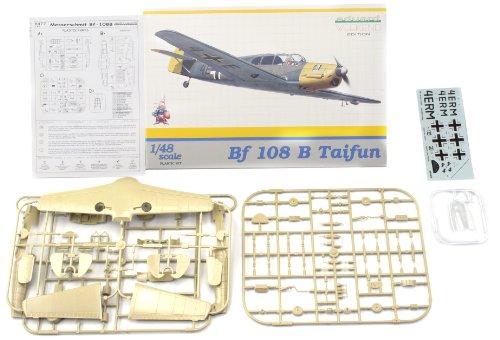 Messerschmitt Bf108B Taifun 4(H)/13 Fighter Romania 1940 (Weekend Edition Plastic Kit) 1/48 Eduard