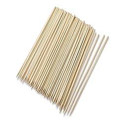 100 Pcs 6 Long Bamboo Cocktail Party Sticks Kebab Skewers, Long Toothpicks - iStoreDirect