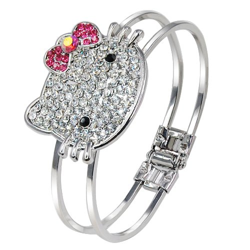 allydrew-kitty-crystal-bangle-bracelet