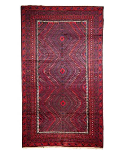 "Tribal Collection Oriental Rug, Red, 7' 7"" x 12' 10"""
