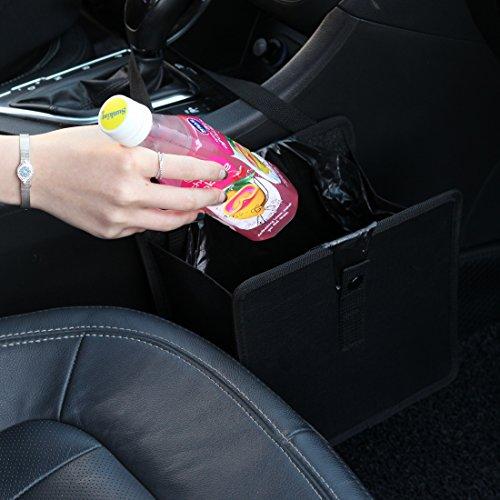 KMMOTORS Jopps Wastebasket Black Garbage Can (Auto Trash compare prices)
