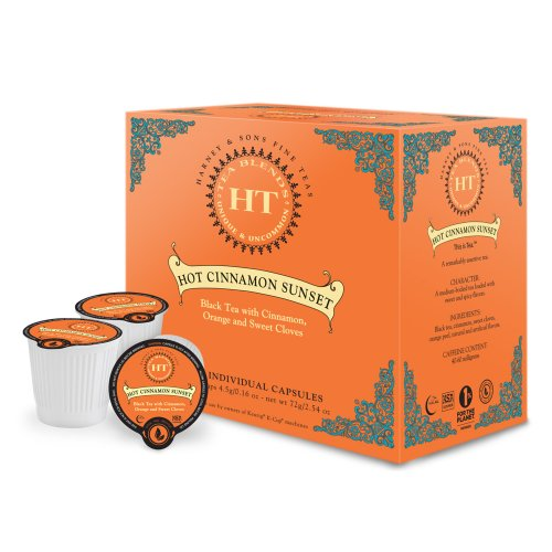 Harney & Sons Hot Cinnamon Sunset Tea (32 Capsules)