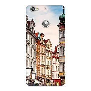Stylish Prague Street Multicolor Print Back Case Cover for LeTV Le 1s