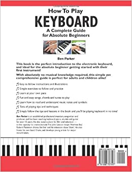 beginners guide for keyboard playing