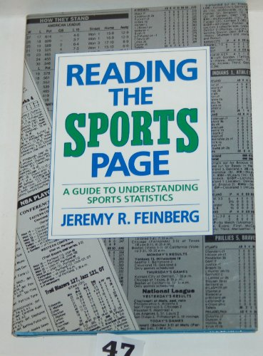 Reading the Sports Page: A Guide to Understanding Sports Statistics : A Skillbook PDF