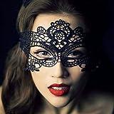 Schwarze Spitze Sexy/Reizvolle Maske