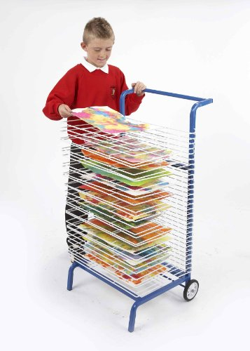 30-shelf-mobile-drying-rack-childrens-paint-dryer-free-paint-pots-agd80