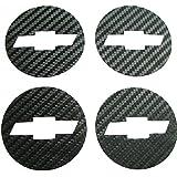 Car Styling Carbon Fiber Wheel Center Hub Caps Emblem