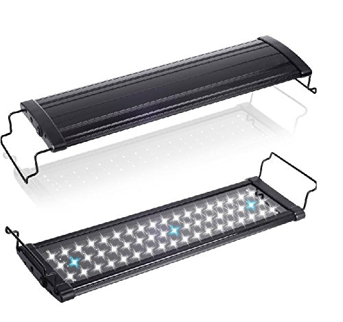 Loriza® Extendable Bright Dimmable Led Aquarium Lighting Reef (11-To-18-Inch)