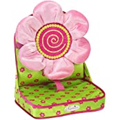 Doll Car Seat By Sophias In Pink & Green, Perfect For 18 Inch Dolls, Or 15 Inch Dolls, Doll Travel C