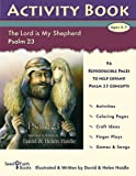 Psalm 23 - The Lord Is My Shepherd: 23rd Psalm Activity Book - Religion - Christianity