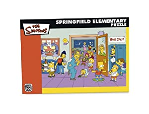 Paul Lamond Games Simpsons 500 Piece puzzle Elementary