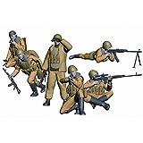 Zvezda Models 1/35 Soviet Paratroops Afghanistan 1980-1988 (6 Figures Set)