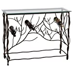 Midwest – CBK Wine Table with 10 Bottle Lower Iron Wine Rack