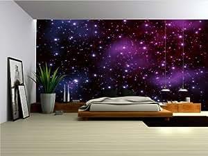 Photo wallpaper murals 39 galaxy 39 wall mural for Amazon mural wallpaper