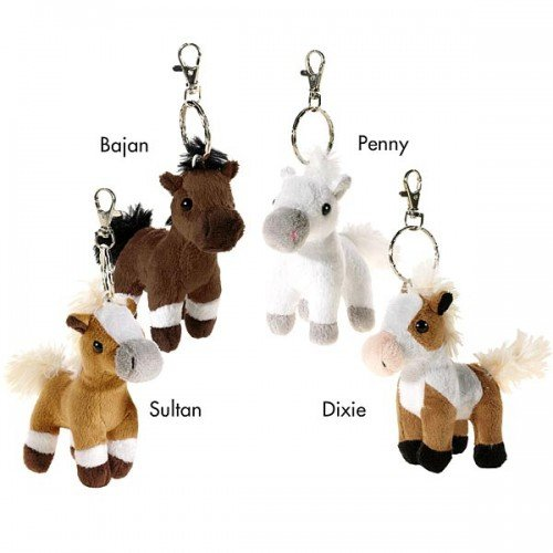 wendys-soft-toy-horse-cartoon-keyrings