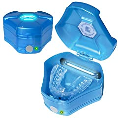 Brain Pad Mouth Guards CASE - UV Ozone Sanitize-Deodorizer by Brain Pad