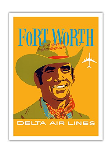 fort-worth-texas-cowboy-delta-air-lines-vintage-airline-travel-poster-by-joh4638n-hardy-c1960s-premi