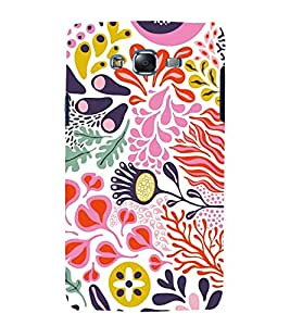 printtech Floral Pattern Design Back Case Cover for Samsung Galaxy A5 / Samsung Galaxy A5 A500F