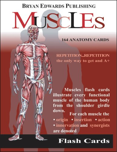 Flashcards for anatomy