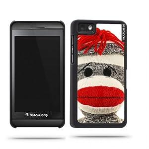 Sock Monkey Face Blackberry Z10 Case - For Blackberry Z10