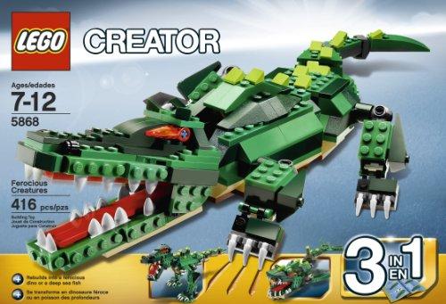 LEGO Ferocious Creatures T Rex Lego Dinosaur